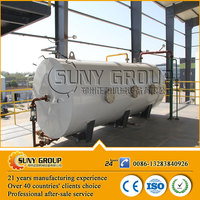 recycling vegetable oil animal fat biodiesel distillation machine factory