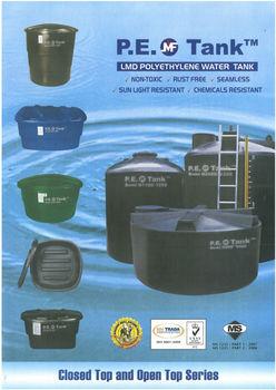 Mui Fatt Pe Cold Water Chemical Storage Tank Buy Pe