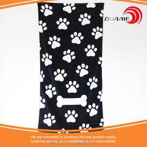Good news!!!Promotion stock lot printed beach towel