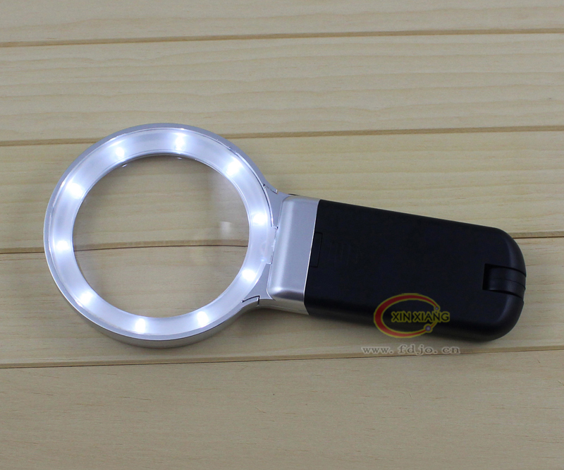 3X Skilled Hand Magnifier Folding Magnifying Glass