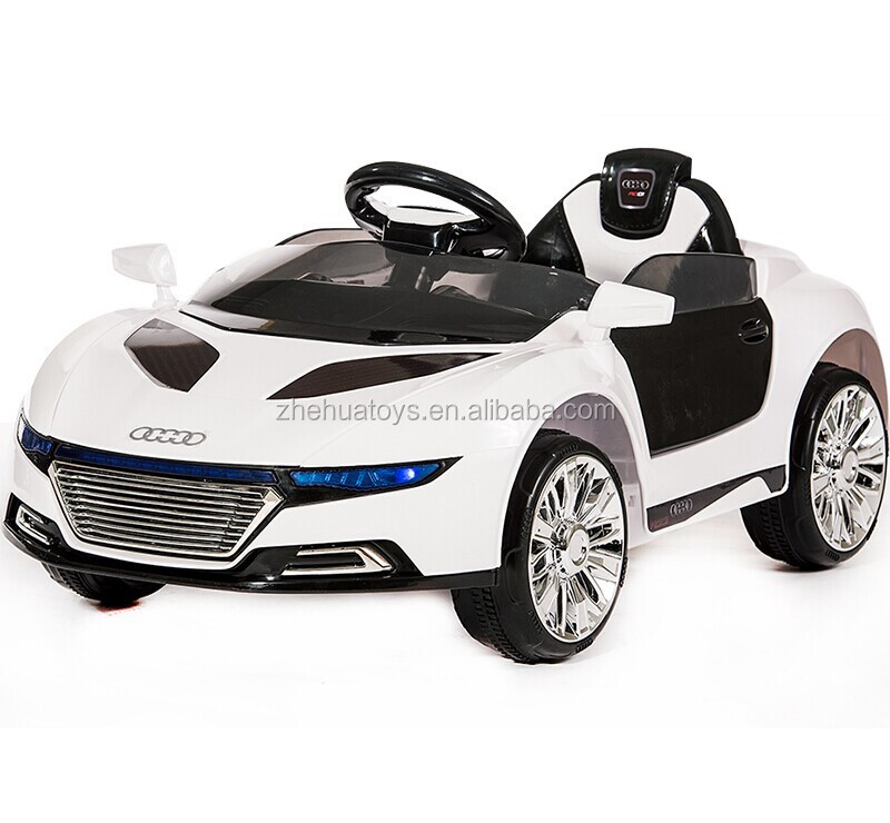 kids ride on remote control power carbaby car kids electric cars with painting