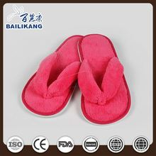 Hotel Amenity Suppliers Disposable Waffle EVA Sole Slippers with Sponge Heels
