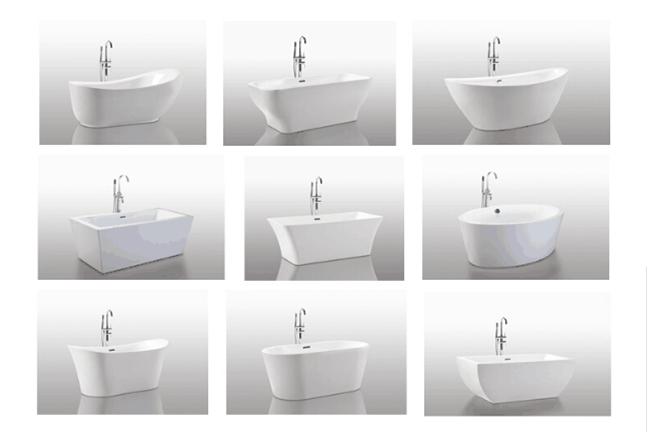 2020 High Quality Chinese Factory White plastic bathtub for child
