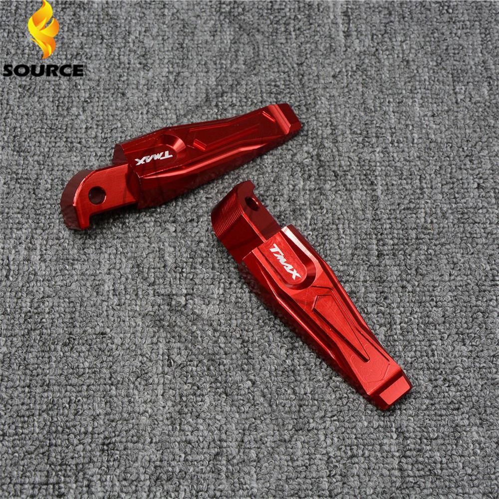 Красный цвет для мотоциклов задняя ножка peg подножки алюминия с чпу задних пассажиров подножки для Yamaha MT-07 MT-09