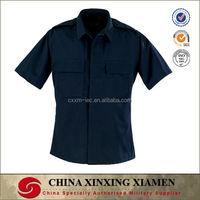 Dark Navy - Short Sleeve 2-Pocket BDU Shirt Army Shirt