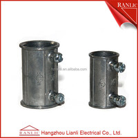 China factory EMT conduit zinc material conduit fittings