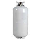 DOT4BW 40lb steel lpg gas fuel cylinder