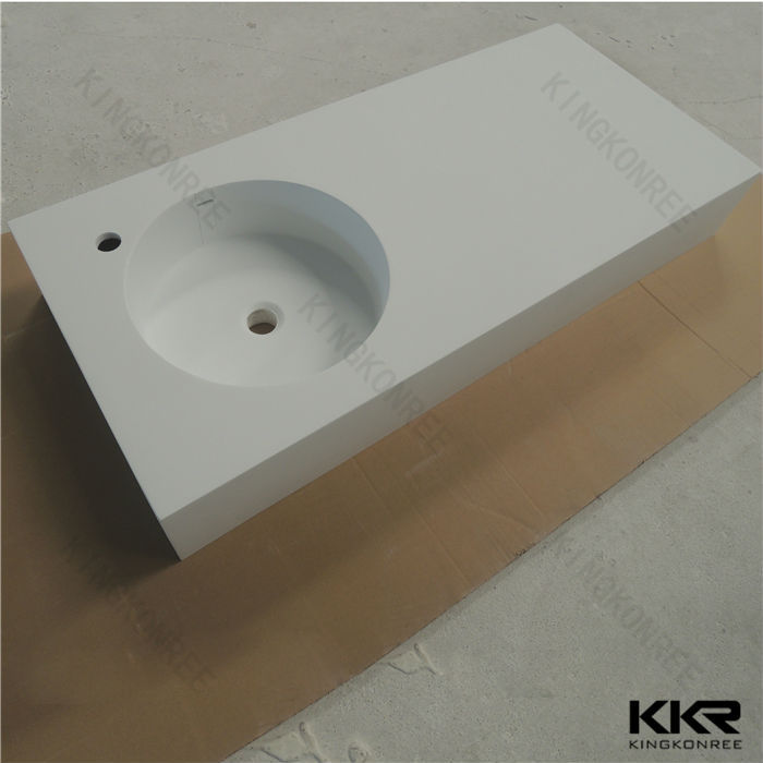 One Piece Bathroom Sink And Countertop Double Sink Bathroom Vanity - One piece bathroom sink and countertop