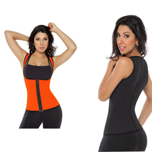 High Quality Neoprene Sauna Sweat Vest Slimming Belt 3 Color Tanks Top
