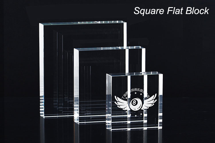 Enter Your Own Custom Text County Engraving Personalised Crystal Cut Glass Paperweight Engraved Business Logo Corporate Gift