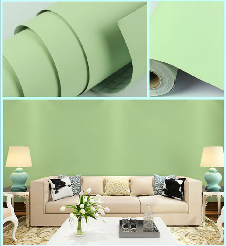 pvc self adhesive vinyl roll decorative wall film modern wallpaper manufacturer