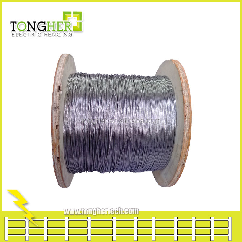 2.5mm Double Insulated Underground Cable/wire For Electric Fence ...
