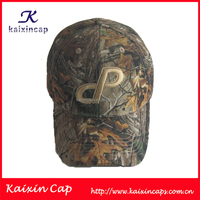 promotional real tree patterns fitted baseball cap