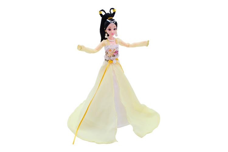 Красивая Фея Китайский древний костюм платье для 30 см куклы китайское классическое платье Классические куклы игрушки Рождественский подар...(Китай)