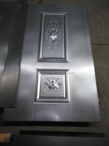 nice finished metal door with galvanized steel sheet metal door skin