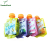 Promotional Aluminum Beverage Snack Packaging Small Flat Bottom Spout Pouch Bag