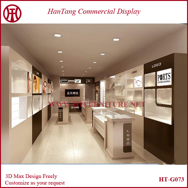 Optical Shop Furniture With Interior Design For Sale