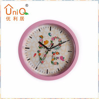 10 inches plastic customized dial kitchen wall clock with hidden safe