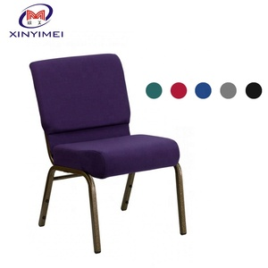 For wholesale hot sale modern used cheap theater metal church chair