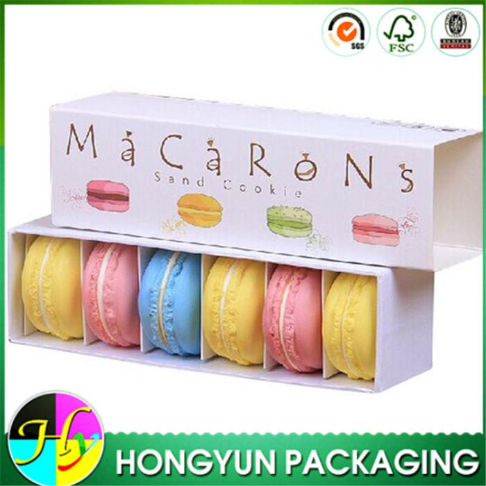 Individual Cardboard Paper Donut Packaging Box