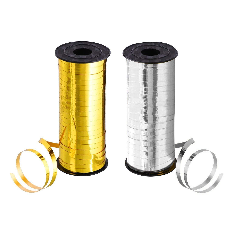 4 row silver metallic striped ribbon