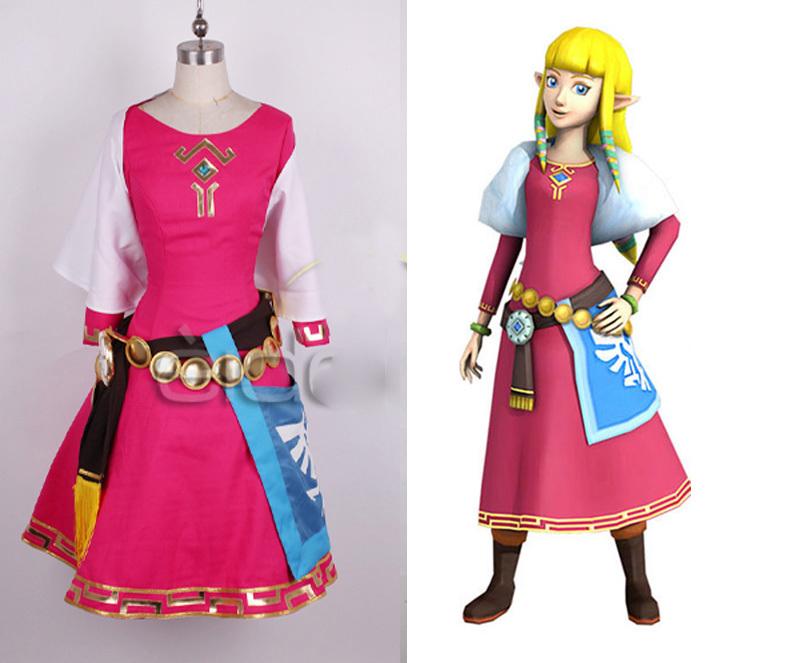 the legend of zelda skyward sword zelda women cosplay