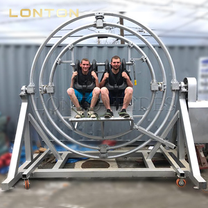 New Equipment Gyroscope Ride, 3D Ring Ride Entertainment Machines for Sale