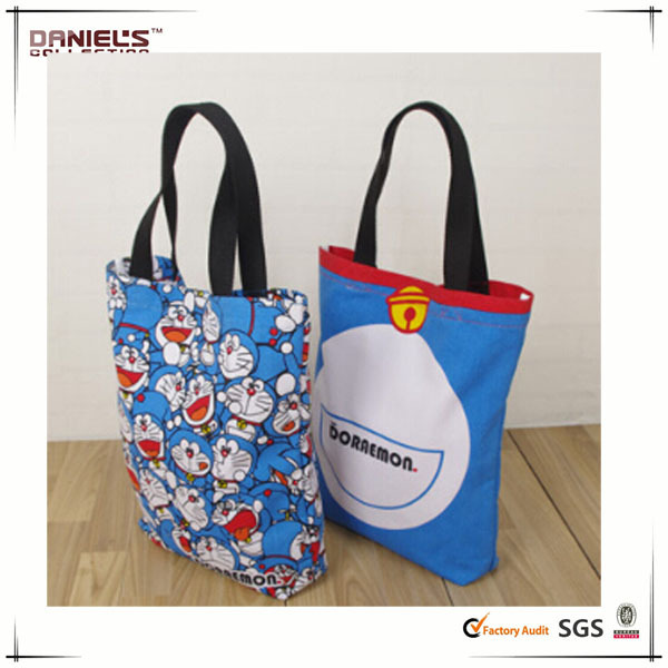 Doraemon Bag Canvas Printed Bag Cotton Canvas Bag - Buy Cotton ...