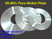 High quality 99.96% pure nickel band, nickel sheet, nickel tape with 0.15(T)*8(W) mm