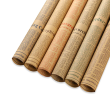 Simple Design Manufacturers Gift Wrapping Paper Newspaper Wrapping Paper Roll