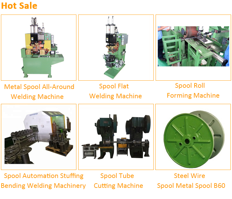 Spool Automation stuffing&bending&welding machinery