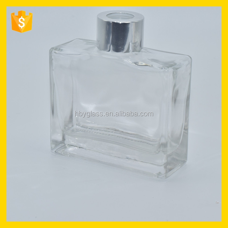 Clear Large Aromatherapy Diffuser bottle glass packaging wholesale made in China