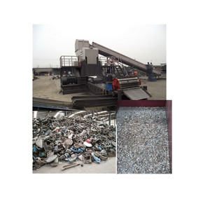 Professional aluminum recycling machinery / Scrap aluminum shredder / scrap metal shredder for sale