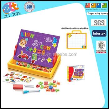 Fai Da Te Per Bambini Tavolo Da Disegno Magnetico Con Lettere E Numeri,  Plastica Apprendimento
