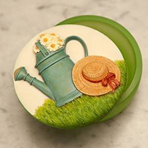 Watering Can Keepsake Box by Ibis & Orchid #13016
