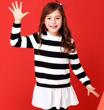 Cute Plain Red Striped Kids Knitted Pullovers Winter Sweaters For Girls ,  Buy Girls Kids Knitted Pullovers,Winter Sweaters For Girls,Girls Kids
