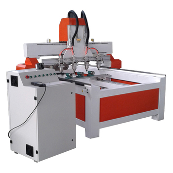 China wooden furniture legs four rotary spindle cnc router machine