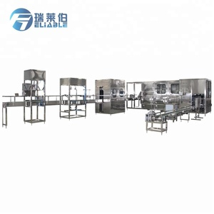Automatic Mineral Water Production Line 5 Gallon Barrel Mineral Water Filling Machine