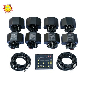 8 pcs receiver fireworks firing system for stage indoor cold fountain