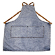 Adjustable Apron Bib with 2 Pockets with Neck Strap for Men Women Chef