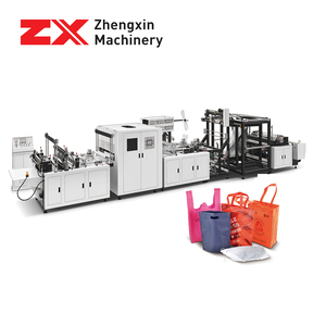 5 in 1 automatic non woven fabric handle bag making machine price in India