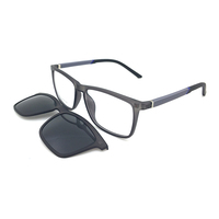 new italy design top quality soft tr90 ready goods clip on glasses wholesale