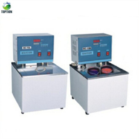 laboratory Digital Thermostat Water Bath with silicon oil cooling and heating