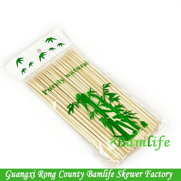 Top quality seafood thick corn Rotating bamboo skewers