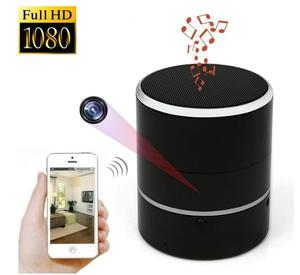 IP WIFi Wireless Wide Angle Mini Smart Audio Bluetooth Speaker Hidden Camera