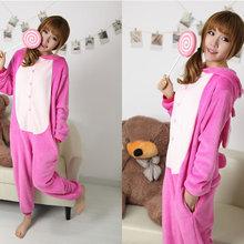505971b95d Adults Animal Cosplay Pajamas Lilo Angel Pink stitch Onesie Sleepwear for  women Tracksuit Party Halloween Costume