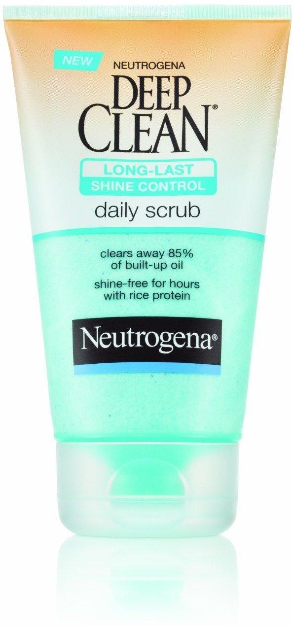 Neutrogena Deep Clean Long-Last Shine Control Daily Scrub 4.20 oz