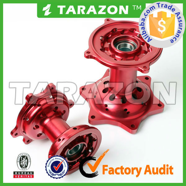 Tarazon brand lightweight cnc motocross wheel hubs for Honda CR125 250 450 R