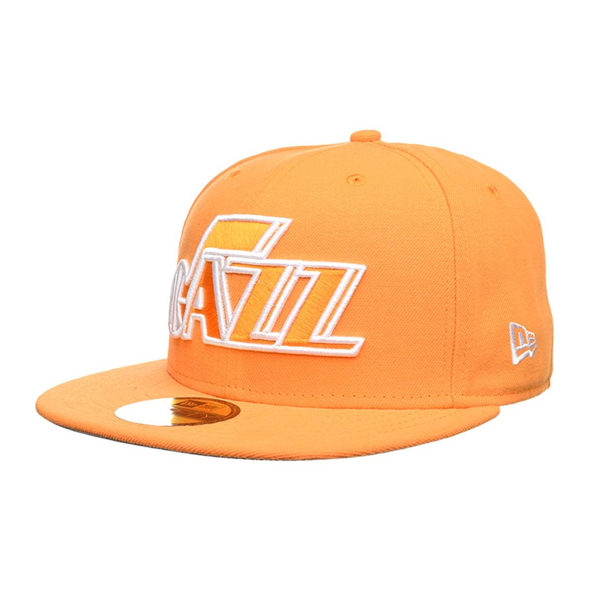 Buy UTAH JAZZ NEW ERA 59Fifty Hat NBA Size 7 1 4 Black Gray  gt NEW ... 9c2dce72865