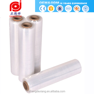 PE Hand Use Transparent Shrink Wrap Film Stretch plastic foil for package